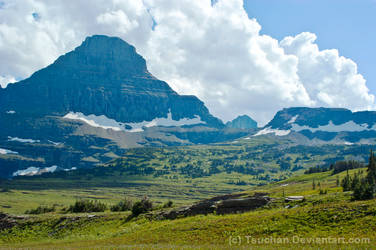 Glacier National Park Summit and Carved Valley by Tsuchan