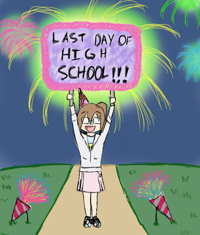 last day of high school When the last bell rings,  27 things you should do before you leave high school  but some day, when high school is just a memory,.