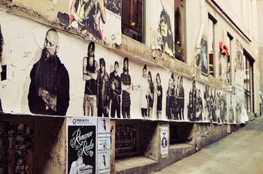 Street gallery.