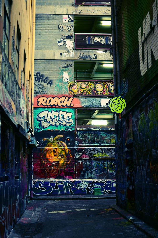 Lion street.