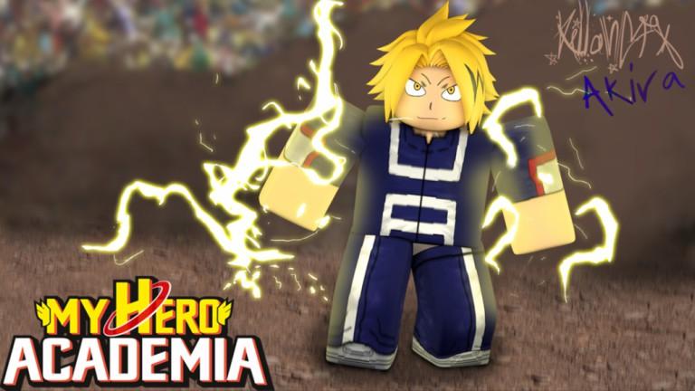 Roblox My Hero Academia GFX by Akirayusei on DeviantArt