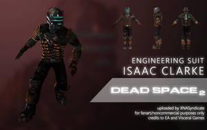 Dead Space 2 - Issac Clarke (Engineering Suit) by XNASyndicate