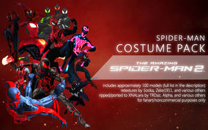 Spider-Man Costume Pack by XNASyndicate