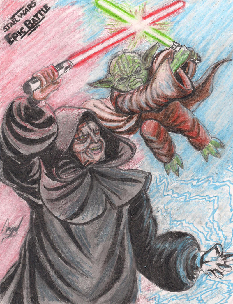 master yoda vs darth - photo #23