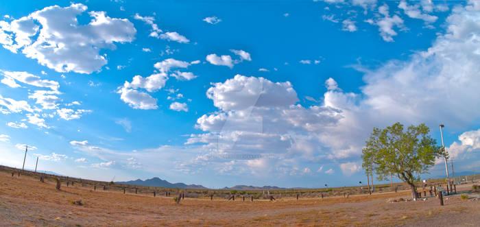 New Mexico Panoramic Shot