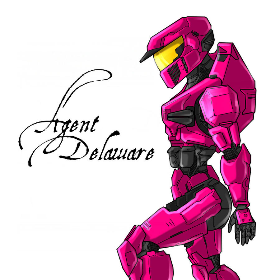 Agent Delaware by Halo-Yokoshima
