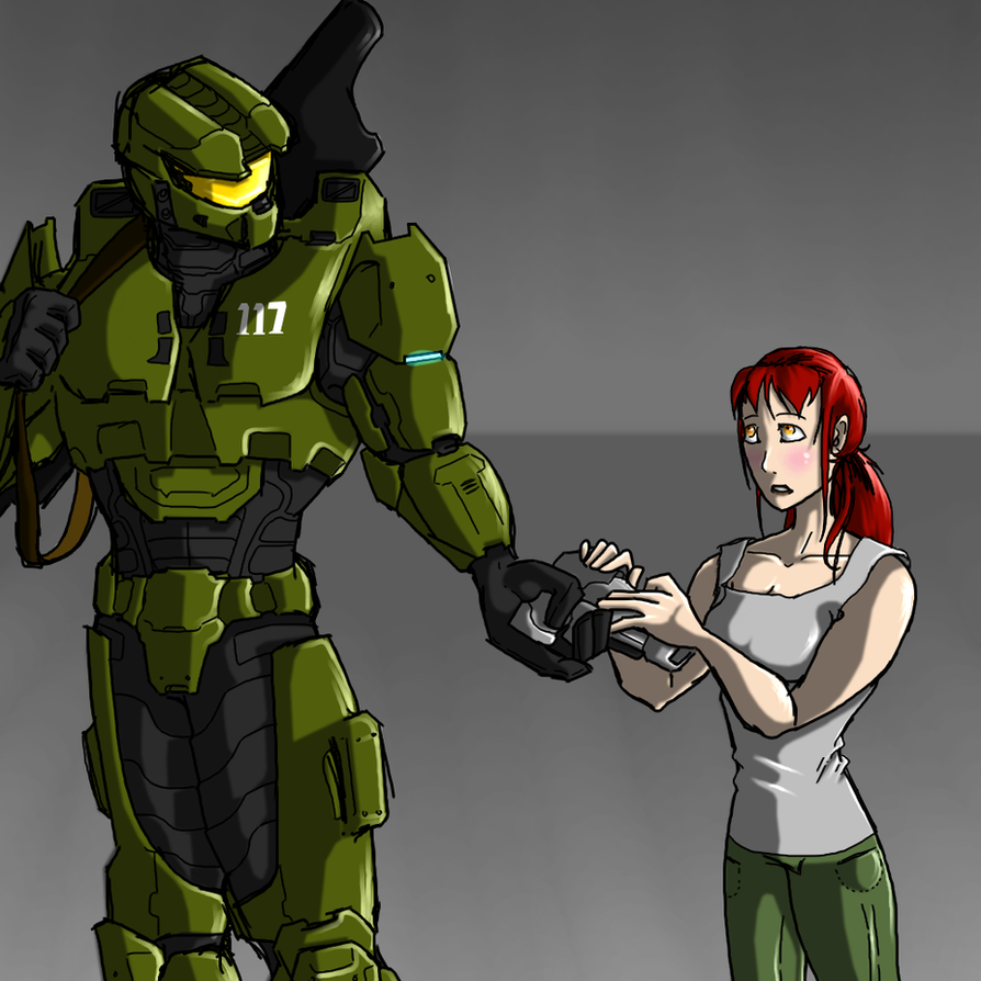 You'll need a weapon... by Halo-Yokoshima