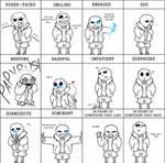 Sans Expression Meme