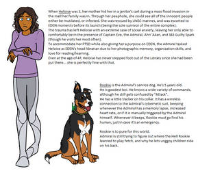 XIII 2 character preview - Heloise and Rookie