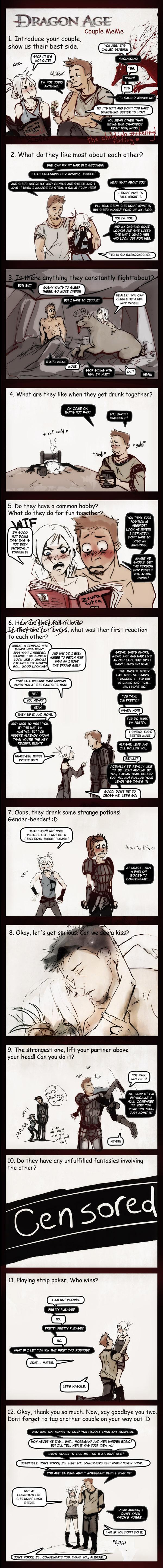 Dragon Age Couple Meme by chakhabit