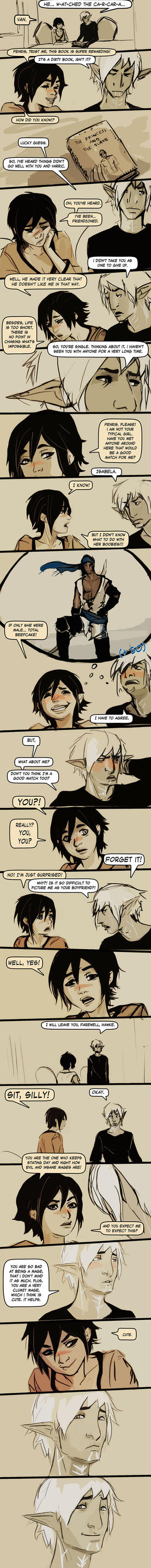 Fenris and Hawke 01 by chakhabit
