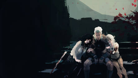 Witcher Moment (MAJOR BOOK SPOILERS) by chakhabit
