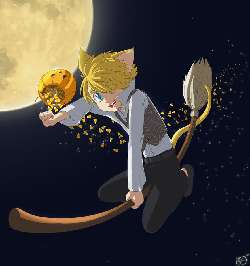 Hallows Eve Ride by riachu64