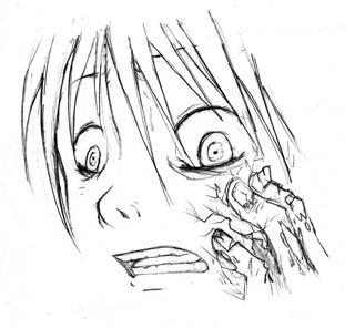 Teh zombie hand STRIKES by riachu64