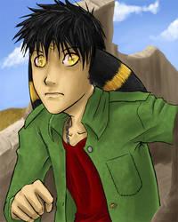 Umbreon boy WITH BG gasp by riachu64