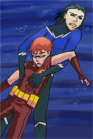 Teen Titans - SAVE SPEEDY by riachu64