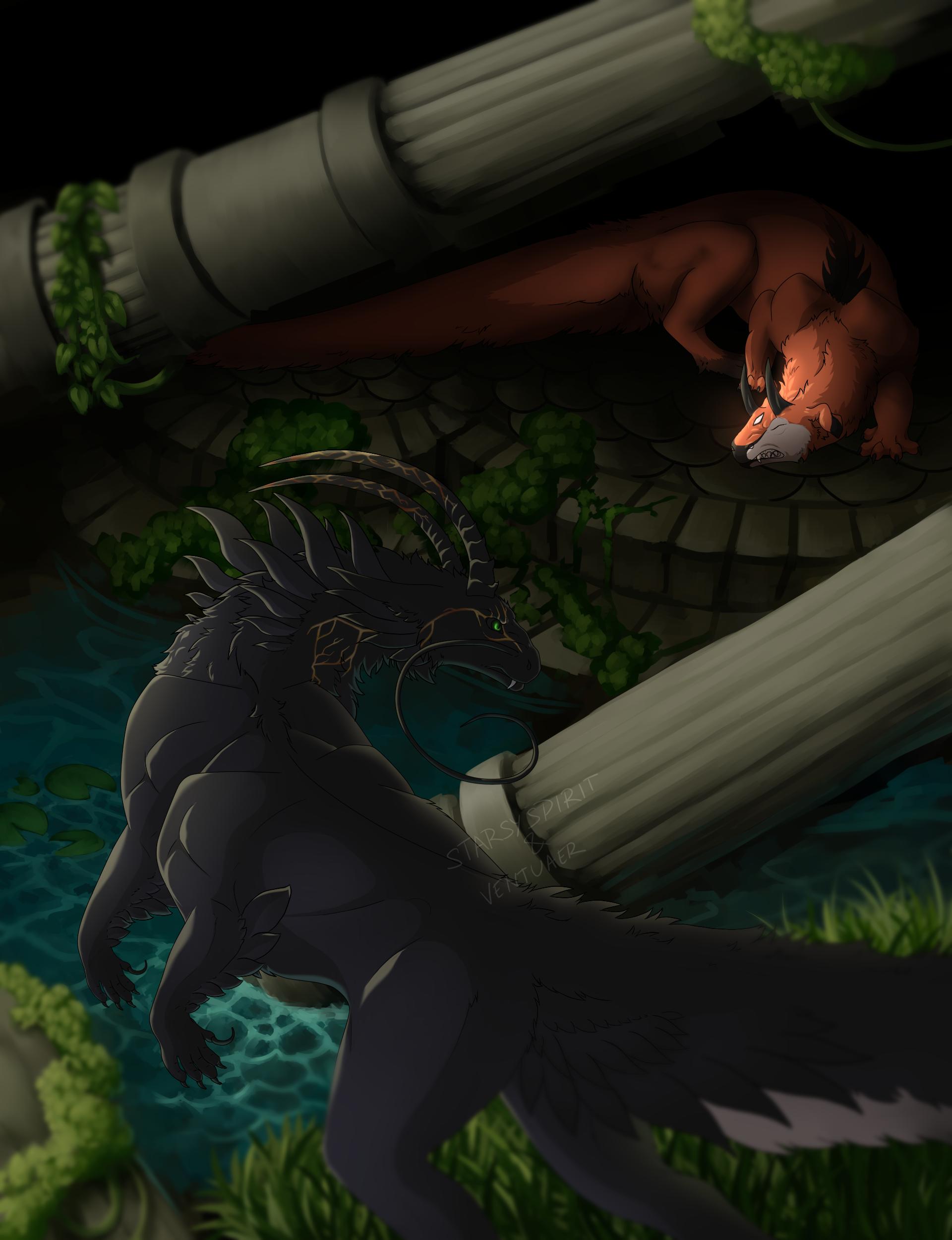 The Night versus the Lurker