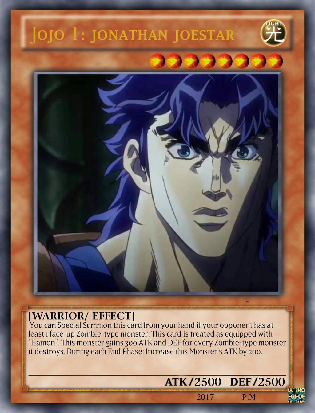 Jonathan Joestar (as a Yu-Gi-Oh! card) by playmaster96 on ...