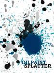 Oilpaint Splatter Brushes