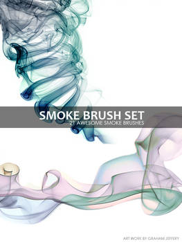 21 Smoke Brushes