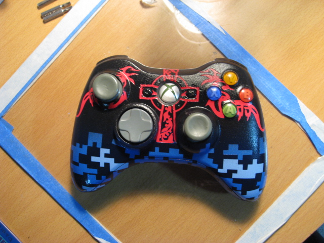 Xbox Controller Custom Paint by MidnightNinja69 on DeviantArt