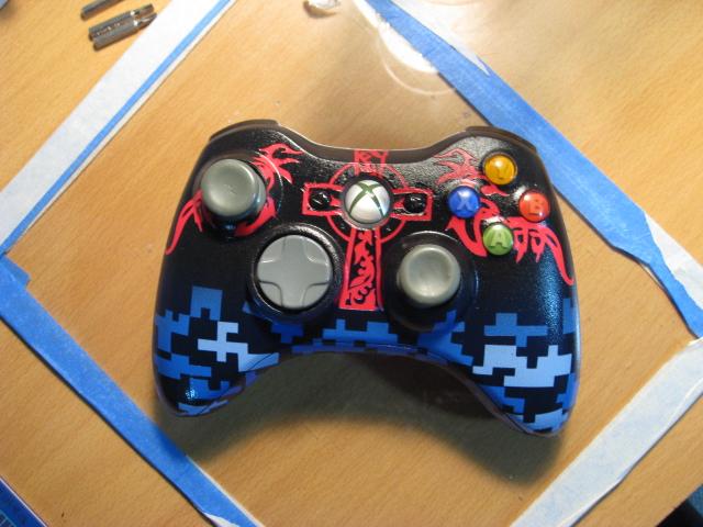 Xbox Controller Custom Paint by MidnightNinja69 on DeviantArt