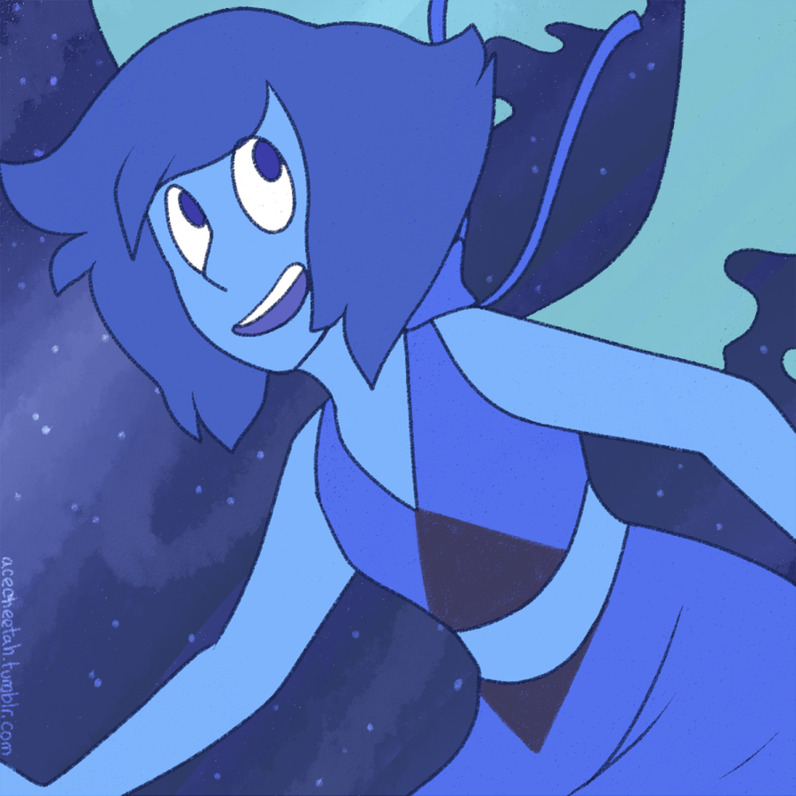 Lapis Lazuli deserves to smile. tumblr link PLEASE!! DO!! NOT!! REPOST!! MY!! ART!!