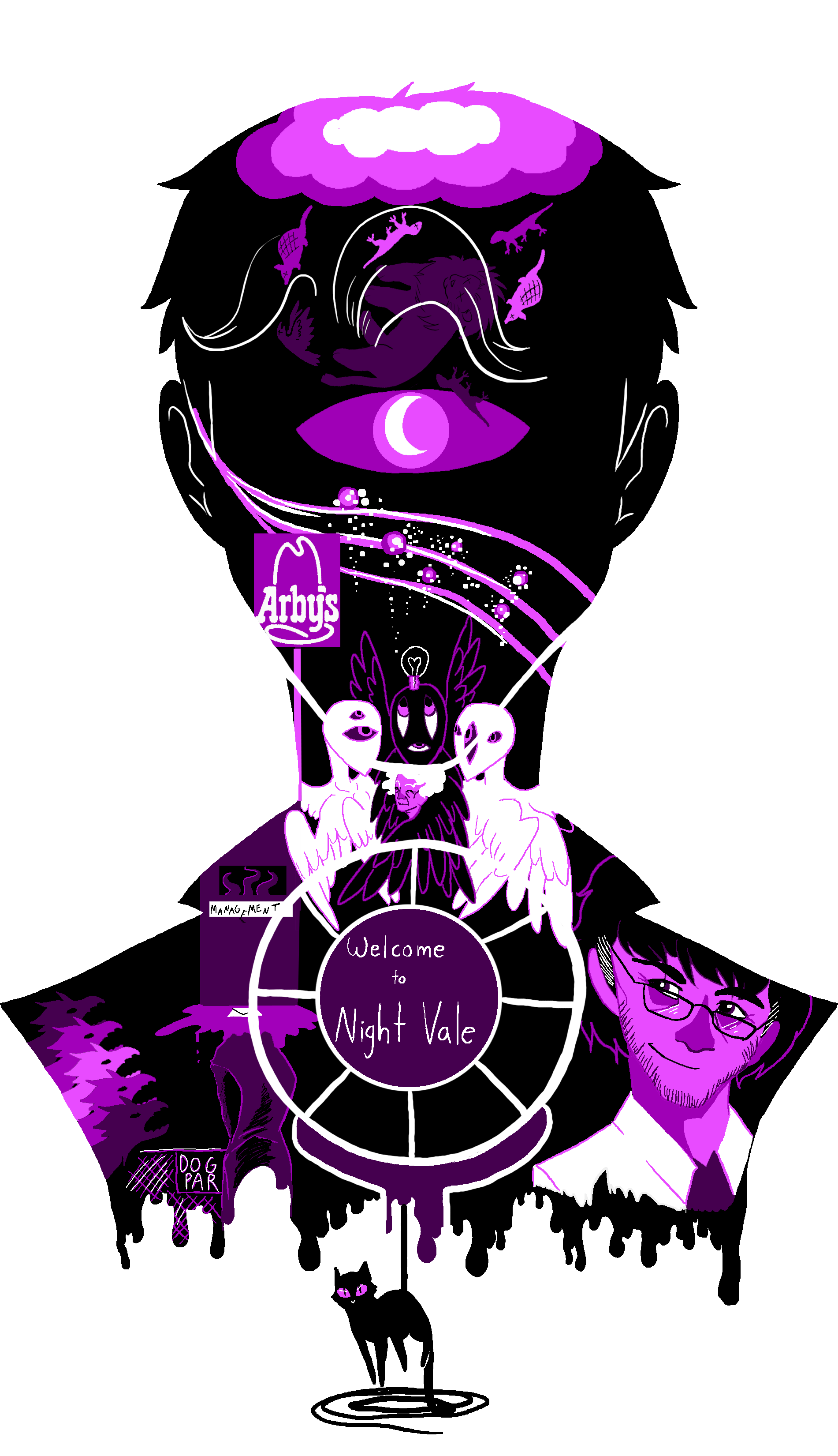 Design t shirt png -  Nightvale T Shirt Design By Jesscurious