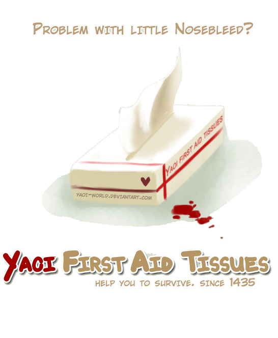 Yaoi First Aid Tissues by Yaoi-World
