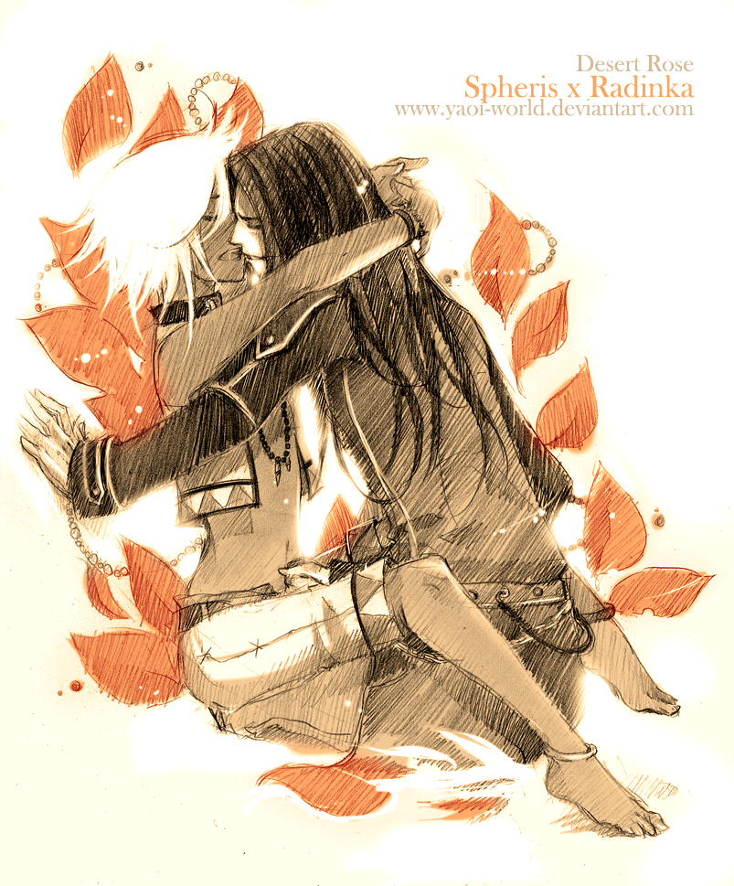 Spheris x Radinka: Desert Rose by Yaoi-World