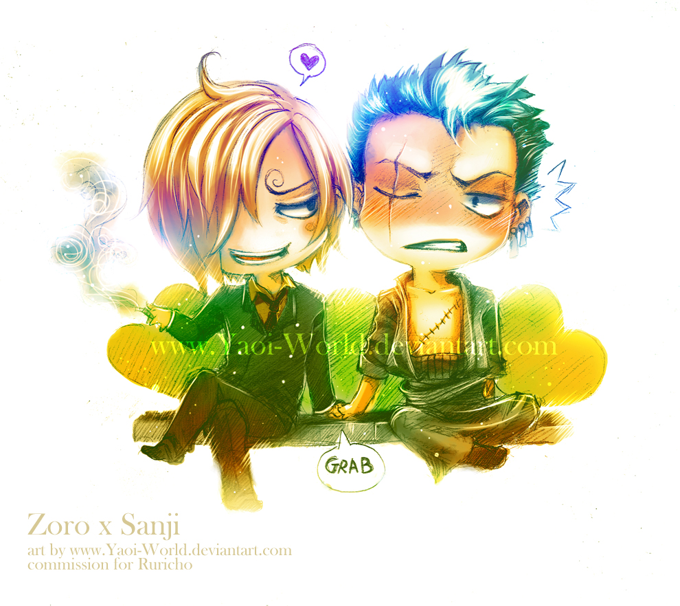 Commission: Zoro x Sanji by Yaoi-World
