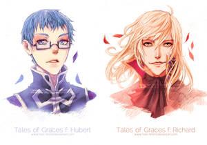 Commission: Tales of Graces f: Hubert + Richard