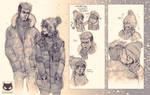 Kazuma x Yaozu: Winter nerds