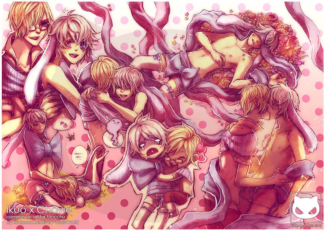 Boys Love Commission: Ikuo x Chovie by Yaoi-World