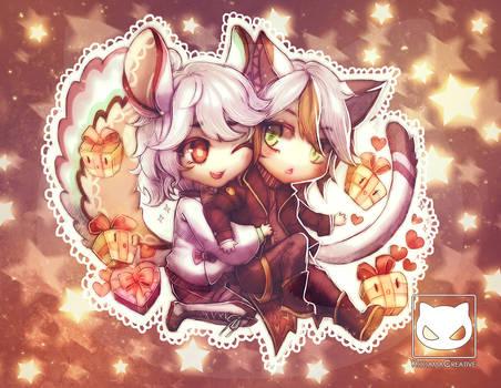Valentines Special Commission: Tanu x Chinchi