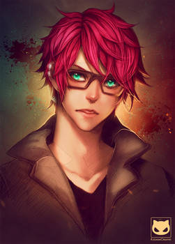 Portrait Commission: Natsu