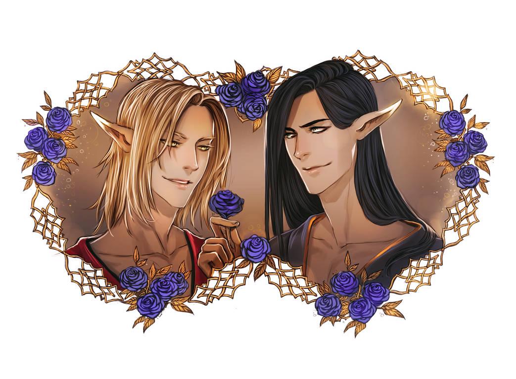 Deis and Kallas by KodamaCreative by Yaoi-World