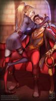 Commission: Amarei and Nebulon