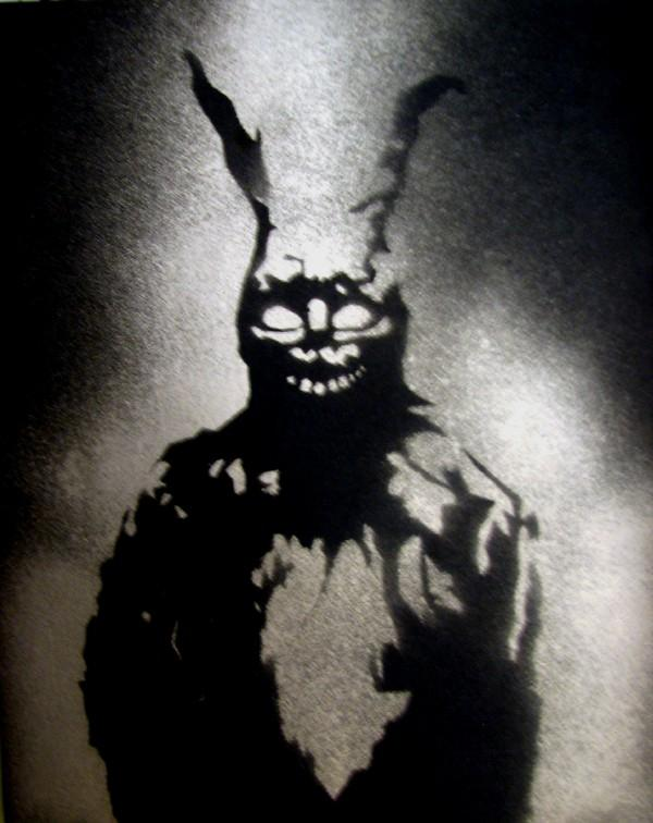 Small Donnie Darko Stencil by Thatguy101