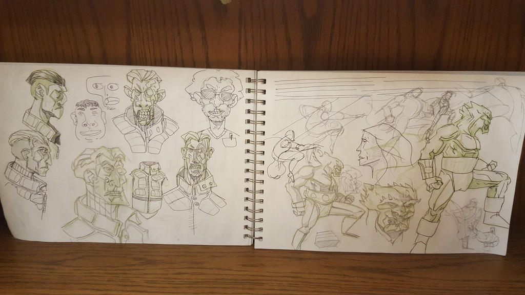 sketchbook 05 by aram1910