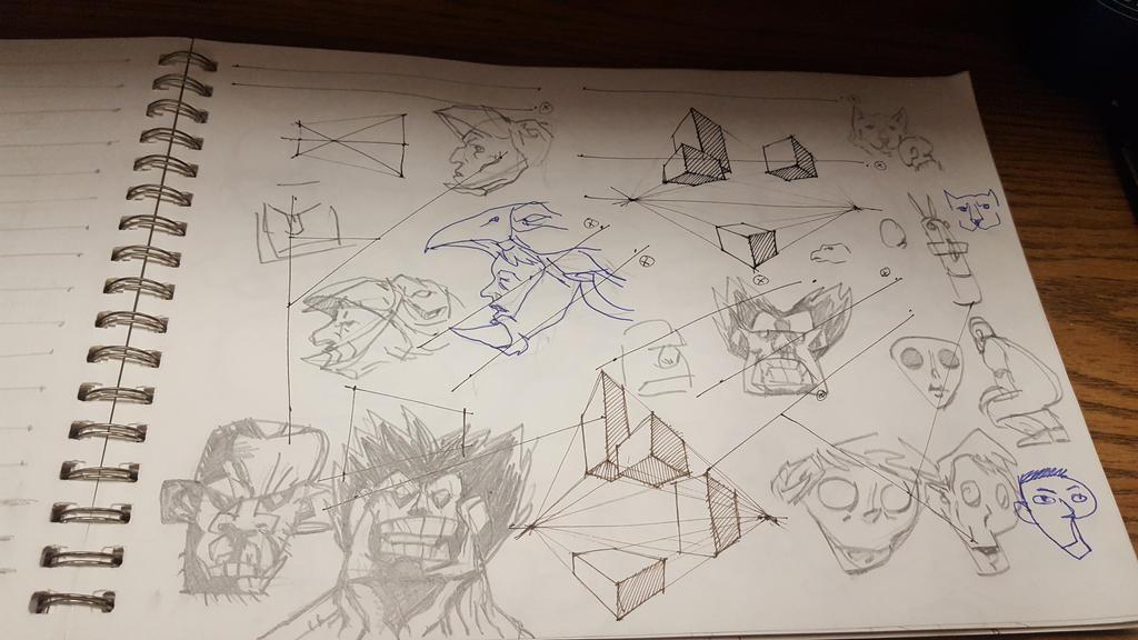 sketchbook 06 by aram1910