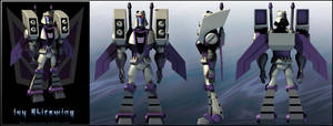 Blitzwing TF animated