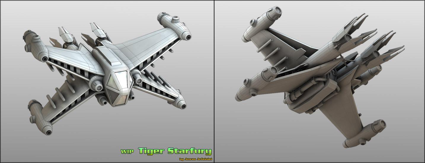 WIP Tiger-Starfury by Amras-Arfeiniel