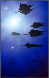 Flight of the Primus by Amras-Arfeiniel