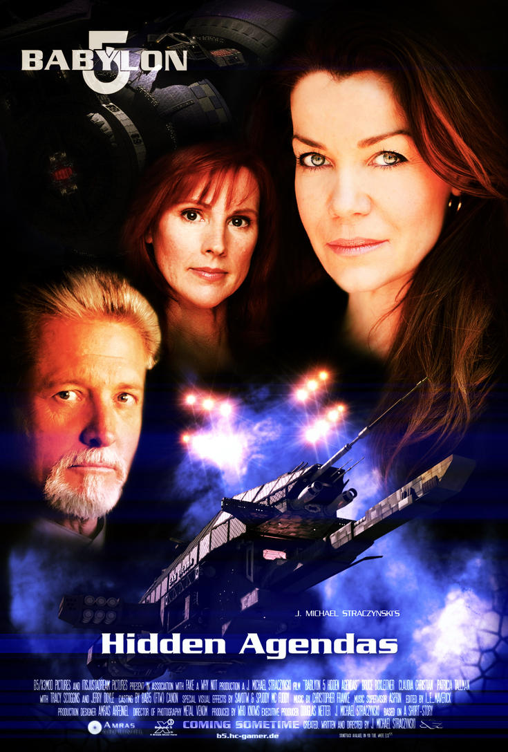 Babylon5 movie poster by Amras-Arfeiniel