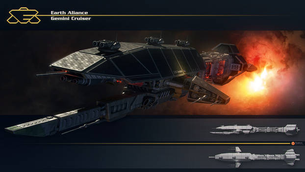 Earth Aliance Gemini Cruiser