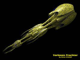 Vorlon freighter by Amras-Arfeiniel