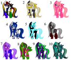 *Open* Pony (MLP) Point Adopts
