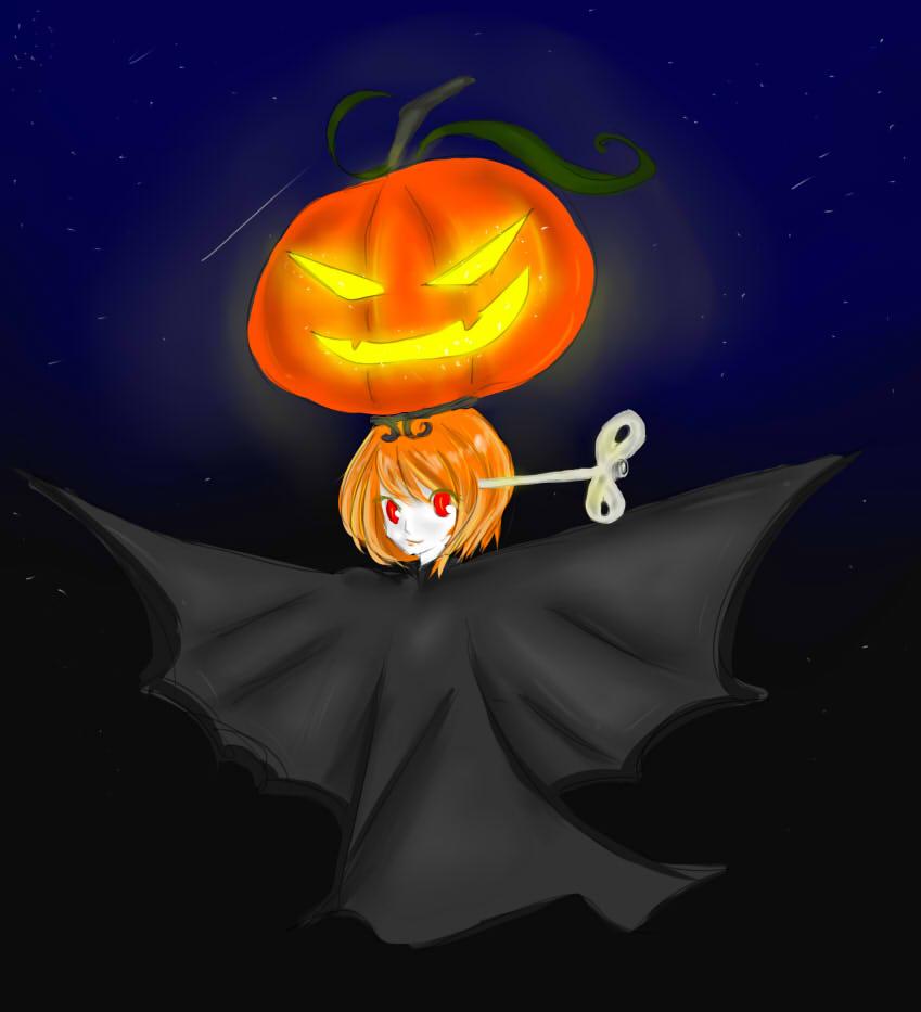Lampy Halloween by nobutawoo