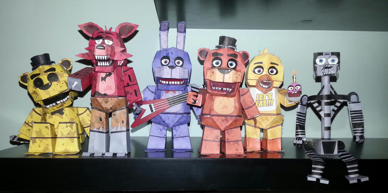 Papercraft Five Nights At Freddy S 4 – Billy Knight